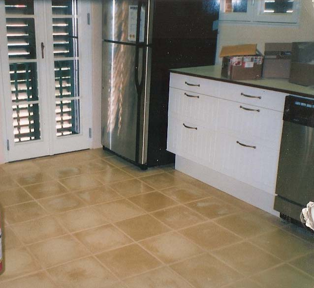 Int Floor Tile Std Tile Kitchen Floors